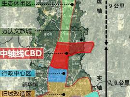 广州唯一区级中轴线—花都中轴线CBD控规通过审议