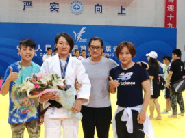 邯郸柔道运动员周超全运会中摘取银牌