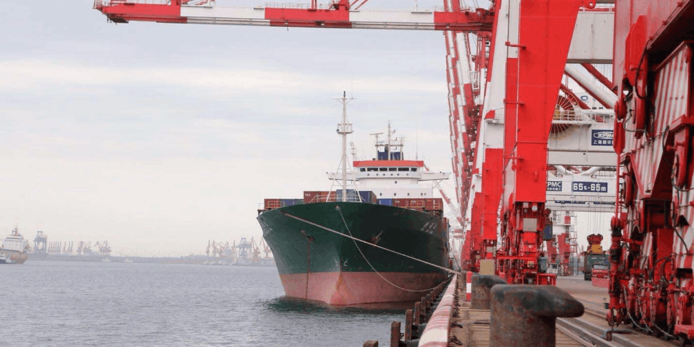 潮州港首条外贸内支线(潮州港-厦门港)投入运营