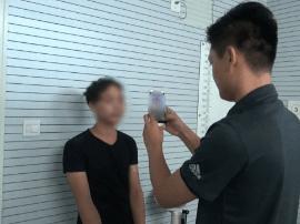 """南宁移动警务终端显神威 """"刷脸""""抓获在逃抢劫犯"""