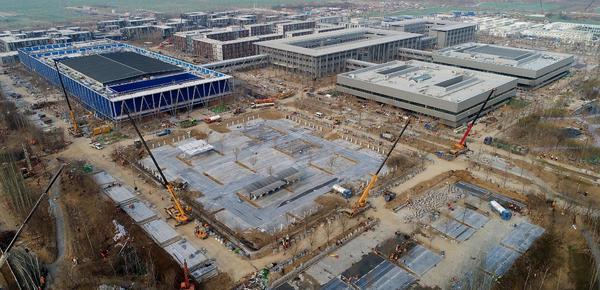 """雄安新区设立一周年 """"雄安第一标""""即将竣工"""