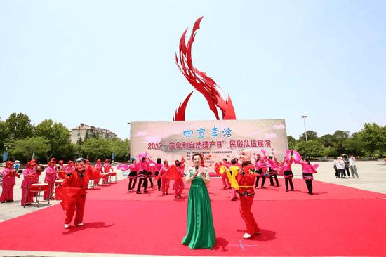 四宜李沧民俗荟萃 李沧区民俗展秀出传统美