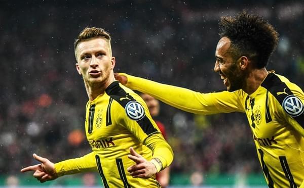 罗伊斯破门 多特3-2淘汰拜仁进德国杯决赛
