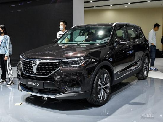9款车型/搭1.6T 中华V7将于6月29日上市
