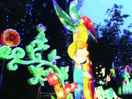 城阳区市民节举行大型彩灯展 将持续到7月20日