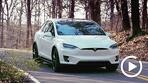 试驾特斯拉Model X 快与质感的选择