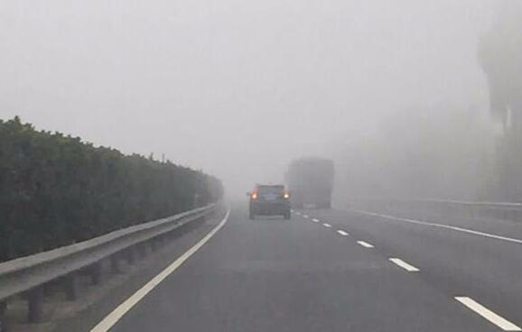 司机注意!因大雾 ,荆州部分高速路段收费站关闭