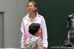 全运网球女单张帅丢金落泪拒戴银牌