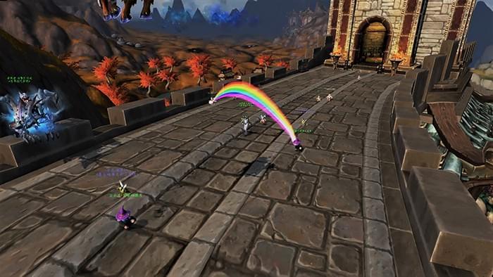 """魔兽520""""脱光""""比赛:影牙要塞翡翠般的梦境公会"""