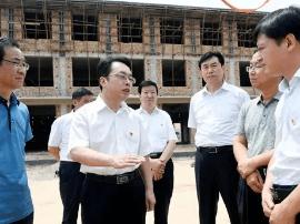朱鹏来夏县调研农村环境集中整治工作推进情况