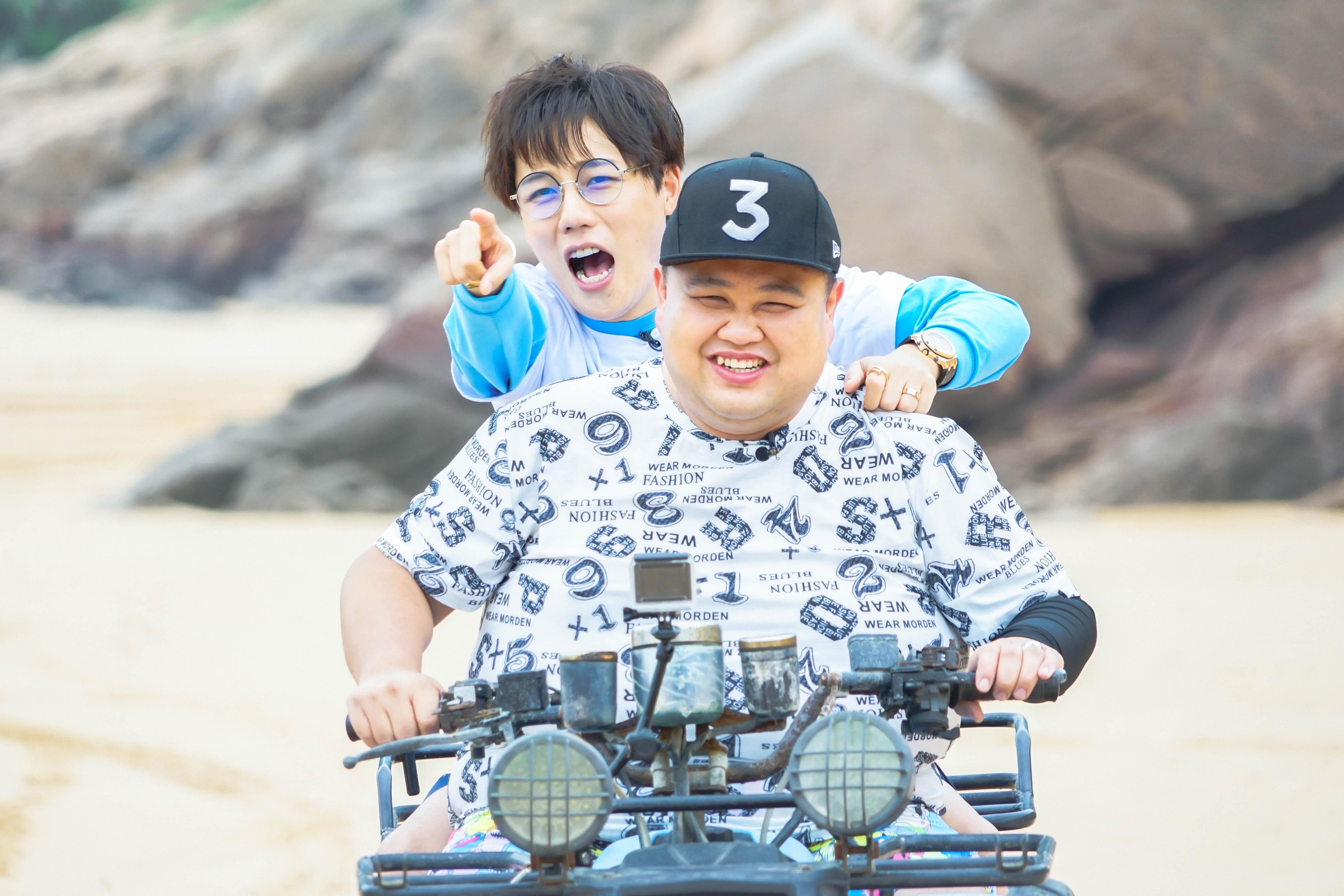 《好运旅行团》本周收官 田亮沙滩赛跑秒杀壮汉