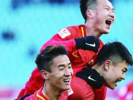 历史首胜!U-23国足3-0阿曼 韦世豪造3球
