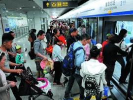 大数据分析岛城地铁客流变化 还能提供个性化服务