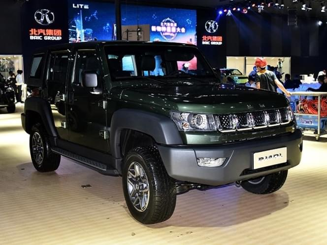 明年1月上市 北京BJ40L将推出2.0T柴油版