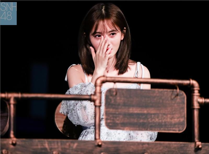 SNH48鞠婧祎。
