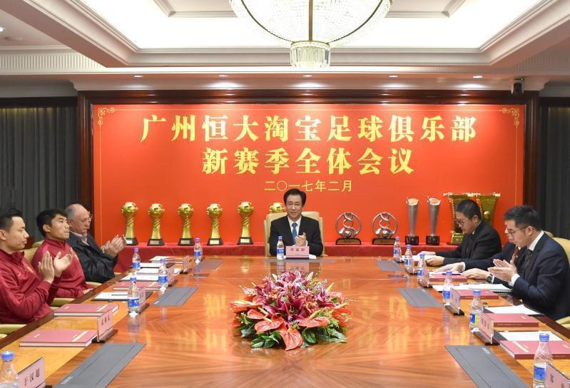 许家印铁腕治队 刘永灼因亚冠出局引援不利遭罢免