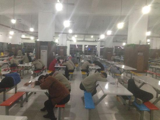 劳动组织指责苹果一台资供应商环境恶劣,强迫加班
