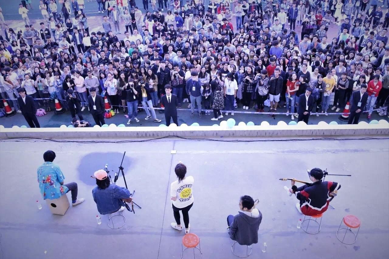 后海大鲨鱼校园分享会继续惊喜 空降京沪双城