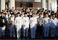 燃情十一月 爱迪学校第五届冬季越野赛开跑