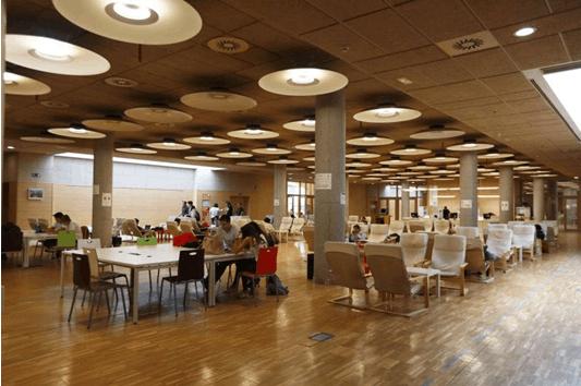 马德里康普顿斯大学图书馆