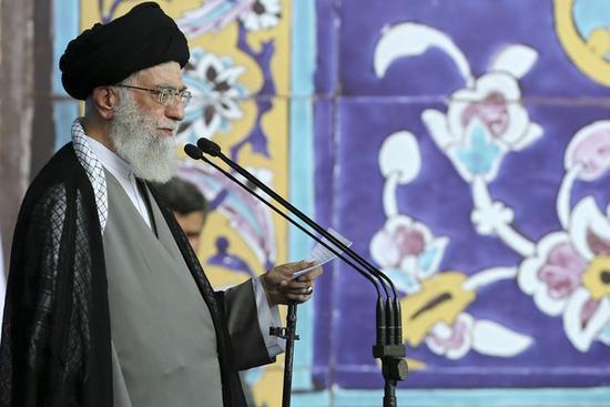 伊朗最高领导人哈梅内伊(美联社)