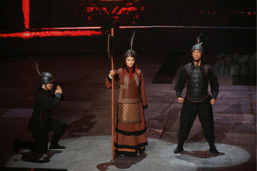 """《国家宝藏》""""女战神""""刘涛圆梦演绎三位一体"""