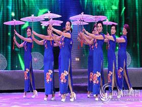 运城市首届旗袍风采电视大赛在运城电视台举行