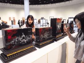 700件艺术作品亮相广西美术馆 展示广西发展成就