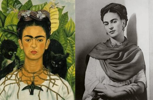 墨西哥著名画家弗里达(Frida Kahlo)