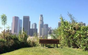 在美丽的洛杉矶追寻那条辽阔的天际线