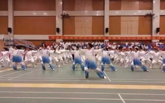 新华区2018太极拳协会首届健身气功交流赛揭