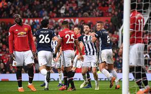 曼联0-1西布朗 助曼城提前5轮夺冠
