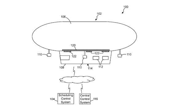 沃尔玛新专利:飘在空中的仓库用无人机给你送货