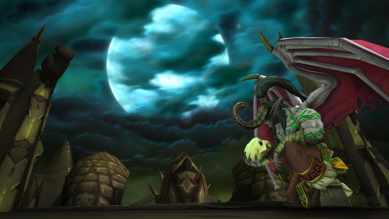 魔兽本周开放萨墓随机二区 时空漫游重温黑暗神殿