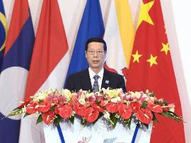 张高丽会见出席第十四届东博会的东盟国家领导人