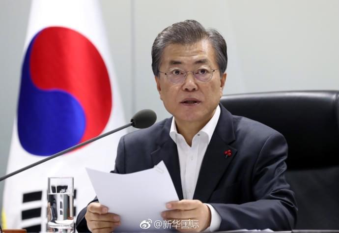 韩美元首通电话:以制裁和施压迫使朝鲜回到谈判桌