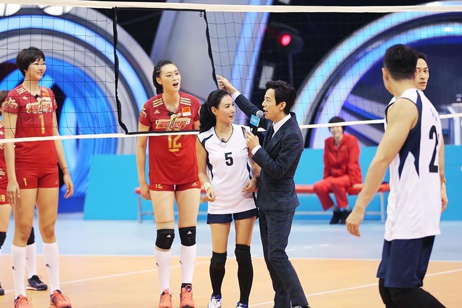 《来吧冠军2》张柏芝含泪表白中国女排