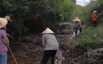 防城港环保局爬坡过坎围追堵截拯救公正河