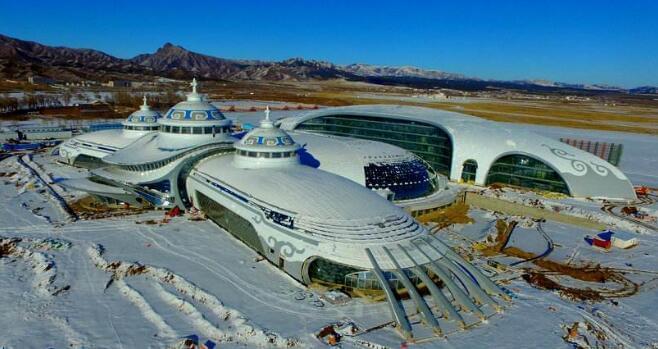 内蒙古自治区70周年大庆主会场施工进展顺利