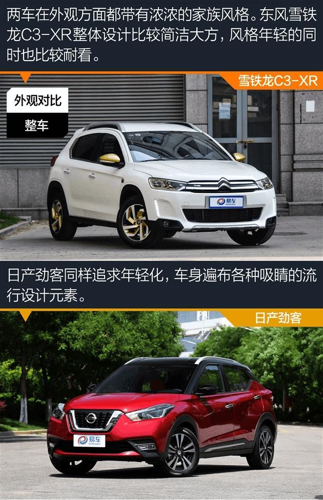 姜老才辣 雪铁龙C3-XR应对日产劲客挑战