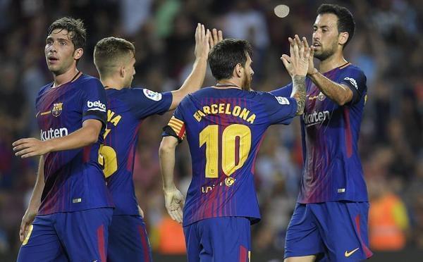 梅西三度中柱罗贝托破门 巴萨2-0胜贝蒂斯