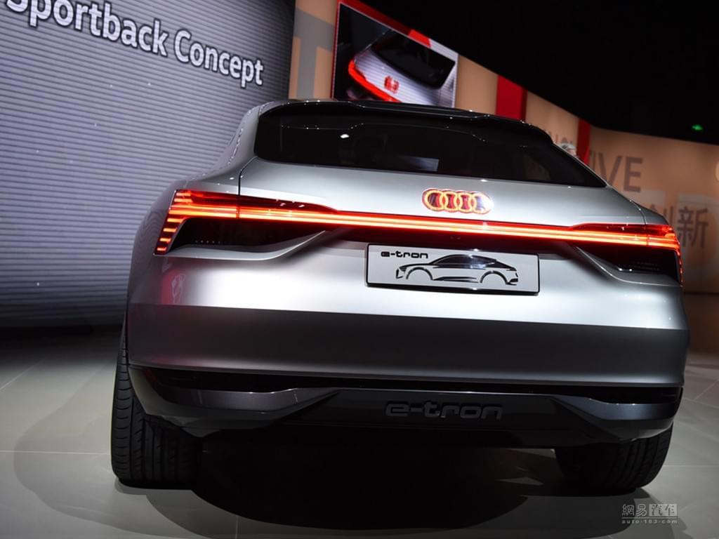 2017上海车展:奥迪e-tron Sportback