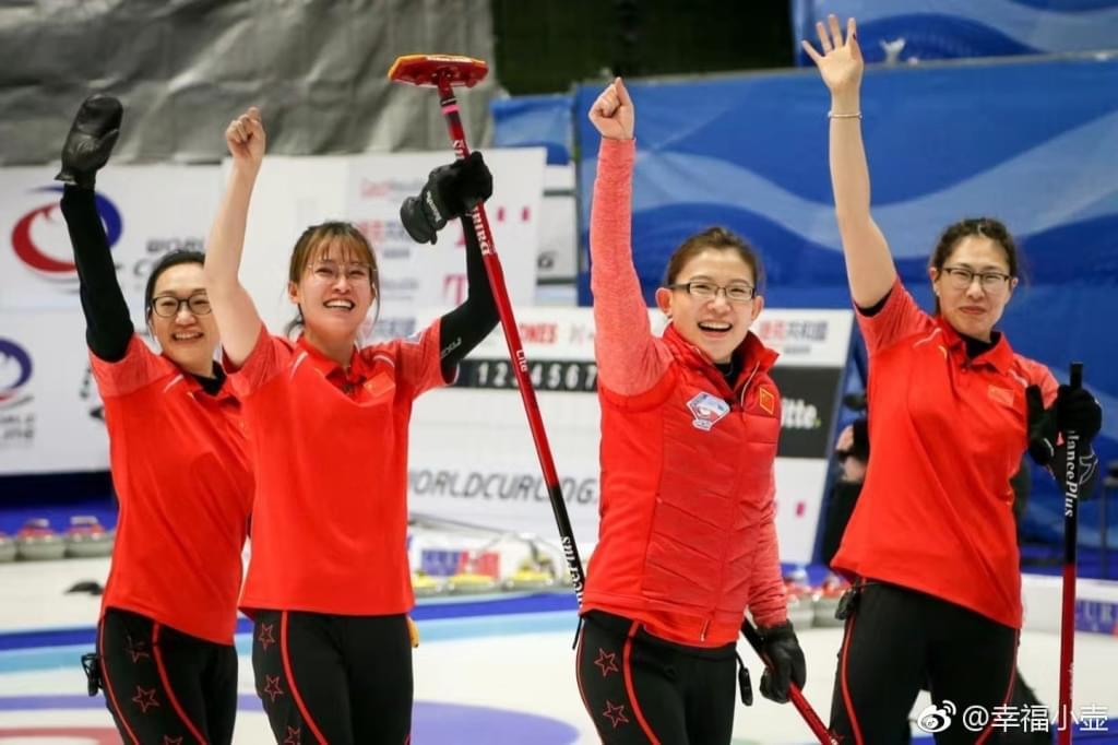 落选赛中国女子冰壶11-4意大利 连续三届进冬奥