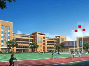 南昌万达城M区小学及幼儿园盛大开工,教育配