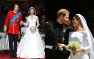 梅根婚纱比凯特更美?