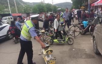 吉县大队全警投入创建国家卫生城市人人有责