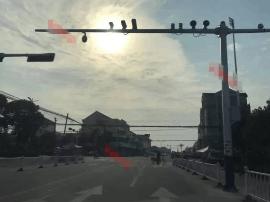 姜堰新增39处高清探头 分辨率高可抓拍违法车辆