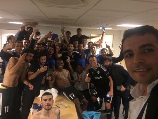 连续四个赛季,卡拉巴克夺得阿塞拜疆足球超级联赛的冠军