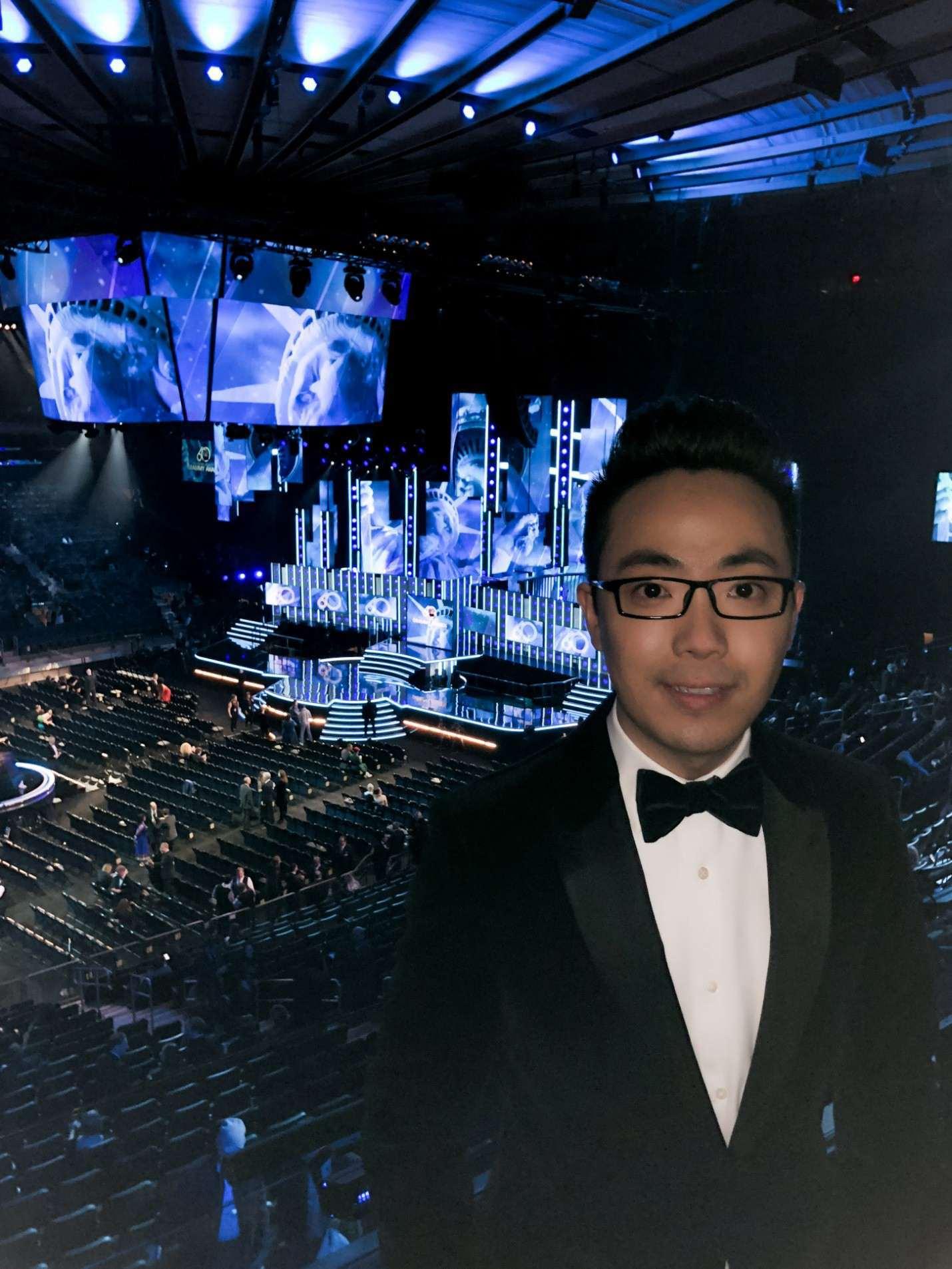 音乐家马琳、陈震携新专辑出席格莱美颁奖典礼