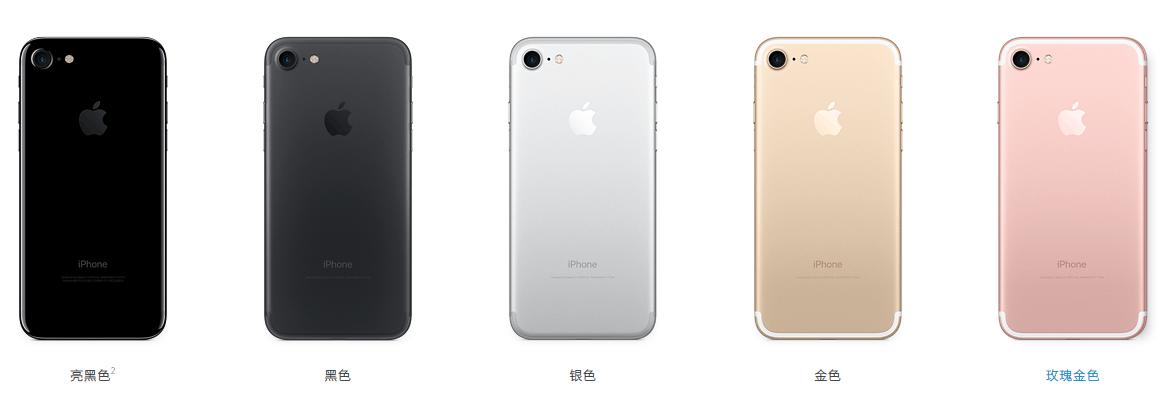 iPhone7价格